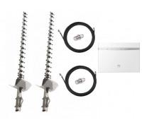 Комплект Антенна 3G/4G Double Force Mimo (2*21 Дб) + 2 кабеля 10м RG58U с коннекторами + 2 адаптера SMA + Huawei B525 4G LTE
