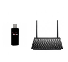 Комплект 3G модем Novatel U760 + Asus RT-AC51U
