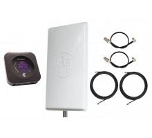 Комплект Антена Mimo 2 * 24 дБі + 2 кабелю 10м RG58U з коннекторами + 2 адаптера для модему + Netgear MR1100