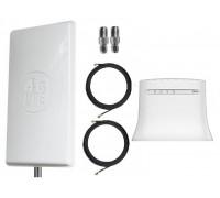 Комплект Антенна Mimo 2*24 дБи + 2 кабеля 10м RG58U с коннекторами + 2 адаптера SMA + ZTE MF283