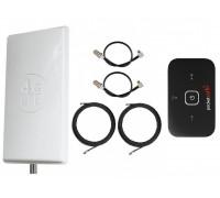 Комплект Антенна Mimo 2*24 дБи + 2 кабеля 10м RG58U с коннекторами + 2 адаптера для модема + Huawei R216