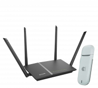 Комплект 3G модем Huawei E3131 + D-Link DIR-815/AC