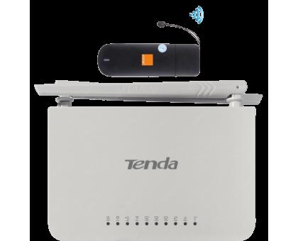 Комплект 3G модем Huawei E352 + TENDA 4G630