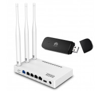 Комплект 3G модем Huawei E3531 + Netis MW5230