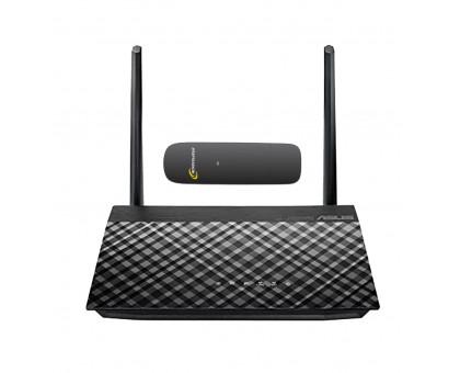 Комплект Asus RT-AC51u + 3G модем Huawei EC306 Интертелеком