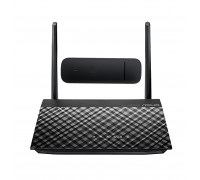 Комплект Asus RT-AC51u + 3G/4G модем Huawei E3372h-607 Black