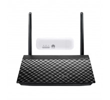 Комплект Asus RT-AC51u + 3G/4G модем Huawei E8372h-153