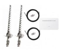 Комплект Антенна 3G/4G Double Force Mimo (2*21 Дб) + 2 кабеля 10м RG58U с коннекторами + 2 адаптера SMA + Huawei B535
