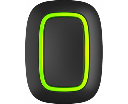 Ajax Button Black Wireless Alarm Button