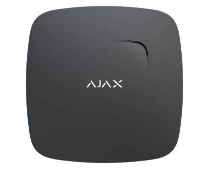 Ajax FireProtect Black Wireless Smoke Detector