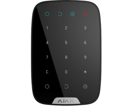 Ajax KeyPad Black Wireless Touch Keyboard