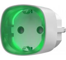 Radio-controlled smart socket with energy meter Ajax Socket White