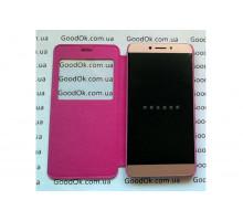 LeEco Le 2 чехол с окошком розовый