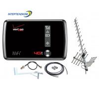Novatel Mifi 4510L + Антенный комплект CDMA 24ДБ + кронштейн**