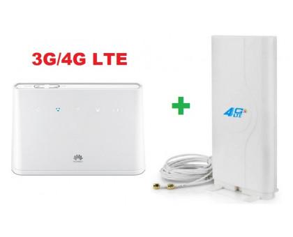 3G/4G роутер Huawei B310s-22 + Антенна Mimo комнатная
