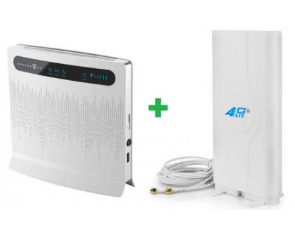 Комплект Huawei B593-12 + Антенна Mimo**