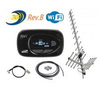 Комплект Mifi 5580 Rev.B + Антенный комплект CDMA 24ДБ*