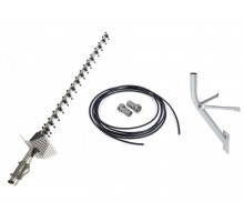 Antenna kit 21 dB ALL FREQUENCIES + 10 m RG 58 cable with connectors + bracket