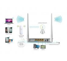 Комплект 3G модем ZTE MF190 + TENDA 4G630