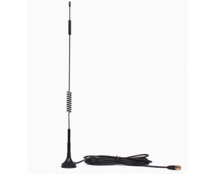 3G / 4G LTE antenna - omnidirectional external antenna with a magnetic base of 700-2700 MHz
