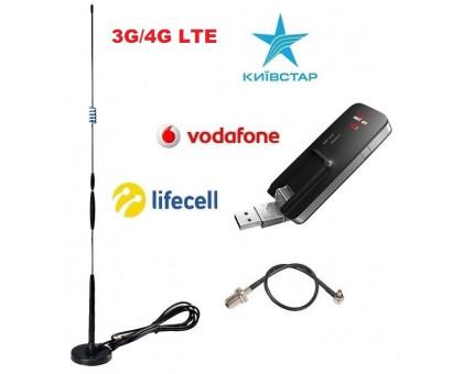 Novatel U620L 3G/4G + Антенный комплект для автомобиля