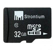Карта памяти Strontium 32GB microSD Class 10 (SR32GTFC10A)