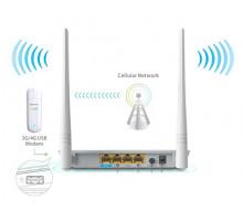 Комплект 3G модем ZTE MF825 + TENDA 4G630
