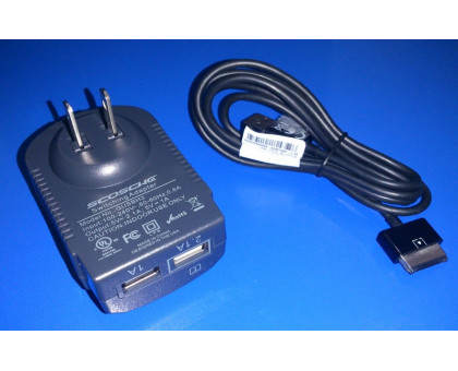 оригинальное сетевое зарядное устройство  ZTE optik v55