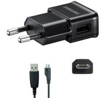 Сетевое зарядное устройство Samsung + Micro USB Black